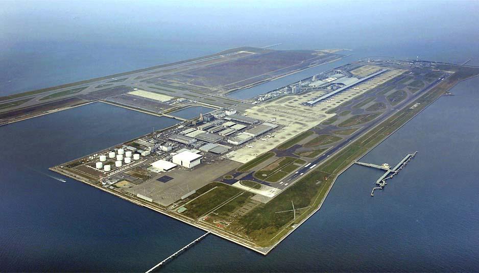 Aeroporto Osaka Renzo Piano : Aeroporto internazionale di kansai smart island project