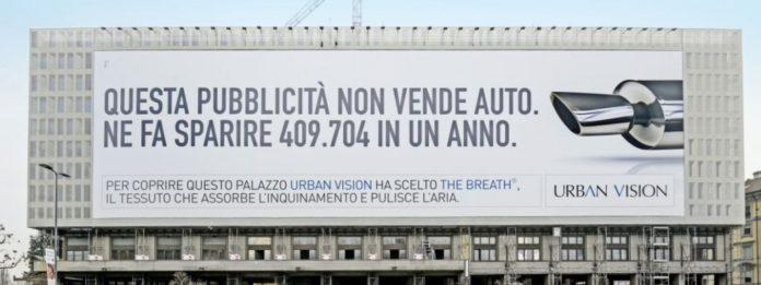 breath, anemotech, pavia, start-up, idea, smog, inquinamento, aria, pulita, italia, news, ecologia, legambiente, tessuto, pubblicità, installazioni, green