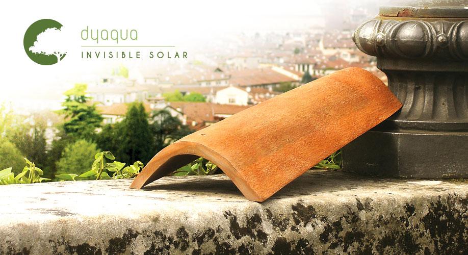invisible solar, fotovoltaico, architettura, integrazione, dyaqua, idee, tecnologia, fotocatalisi, sole, rinnovabile, innovazione, energia