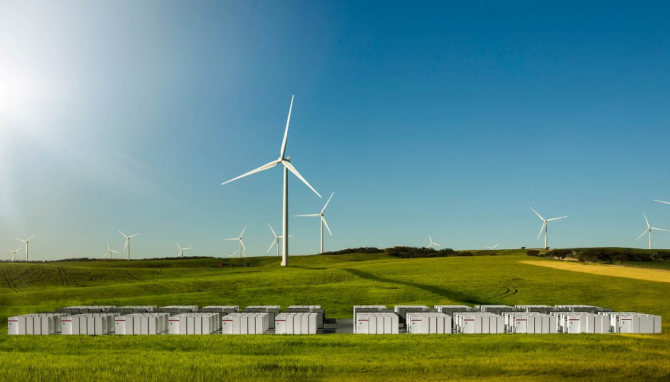 Batterie, litio-ioni, tesla, accumulo, australia, energia, rete, parco eolico, efficienza, continuità, rinnovabile, progetto, infrastrutture elettriche, close-up engineering