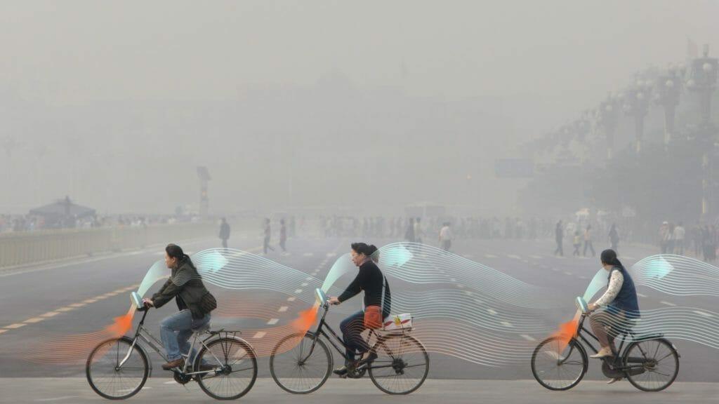 smog, xian, purificatore, cina, bici, roosegaarde, citytree, green solution, innovazioni, città, urbano, inquinamento