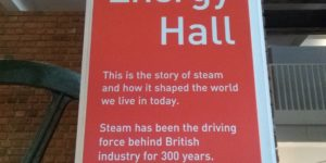 L'Energy Hall del Science Museum di Londra