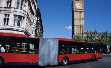 londra, bus, rossi, tfl, trasporto, emissioni, filtri, ibridi, elettrici, uk, diesel, biofuel, innovazione, inquinamento, trasporto pubblico