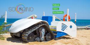 Solarino, il robot che pulisce le nostre spiagge!