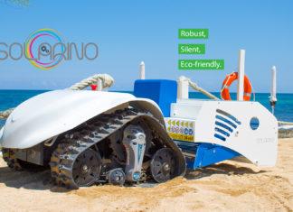 solarino, dronyx, unisalento, spiaggia, italy, rifiuti, sabbia, pulizia, robot, automazione, risparmio, rinnovabile, ambiente, tecnologia