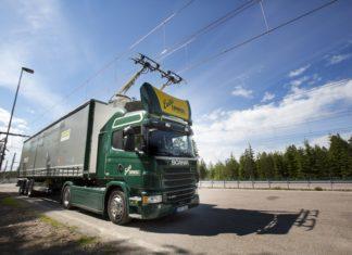 BreBeMi, Scania, Siemens, autostrada, Milano, Brescia, Bergamo, camion elettrici, filobus, innovazione, ricerca, sistema elettrico, linea elettrica, trasporto, Energy Close-up Engineering