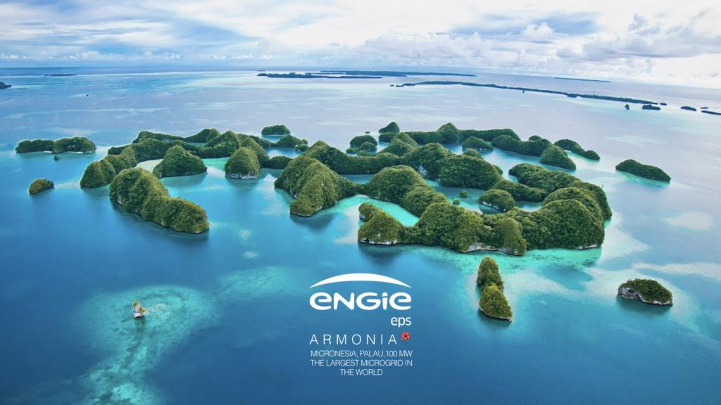 engie eps, microrete, palau, fotovoltaico, storage, isole, innovazione, decarbonizzazione, pacifico, tecnologia, gestione, rinnovabili