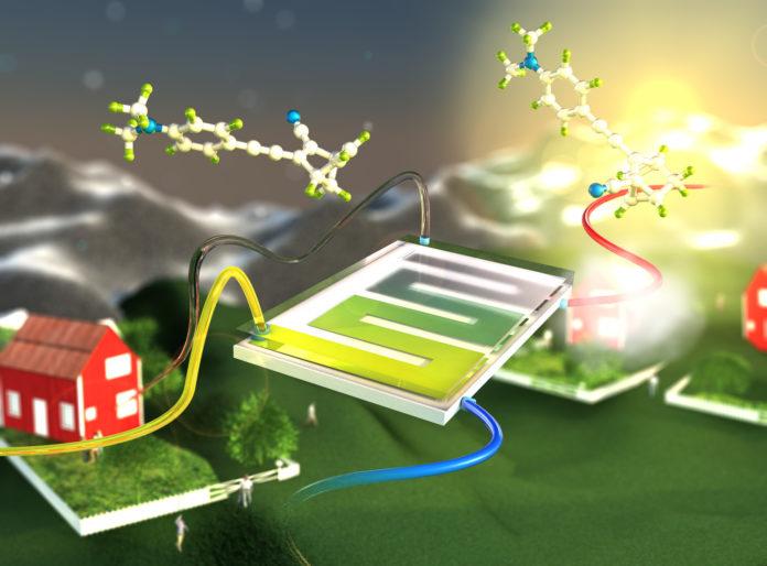 liquido, stoccaggio, energia, energia termica, norbornadiene, solare, rinnovabili, riscaldamento, innovazione, tecnologia, Svezia, Energy Close-up Engineering