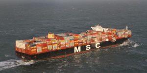 Container dispersi in mare: pericolo per l'ambiente