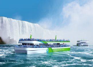 ABB, maid of the mist, niagara, cascate, usa, turismo, emissioni zero, elettrico, navi, trasporti, batterie, ricarica, innovazione, tecnologia