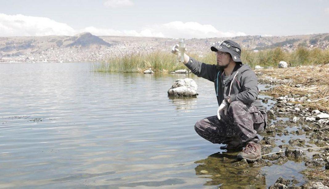 El Cascajo, Perù. Marino Morikawa, zone umide, bonifica, acquitrinio, ambiente, depurazione, nanobolle, nanotecnologie, biofiltri, biotecnologia, Titicaca, Energy Close-up Engineering