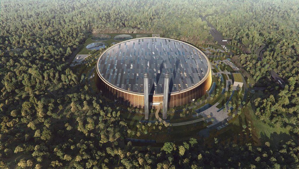 Shenzhen, Waste-to-Energy, Plant, termovalorizzatore, rifiuti, RSU, MSW, energia, sostenibilità, ambiente, Cina, Hong Kong, SHL Architects, grande, innovazione, tecnologia, gigante, Energy Close-up Engineering