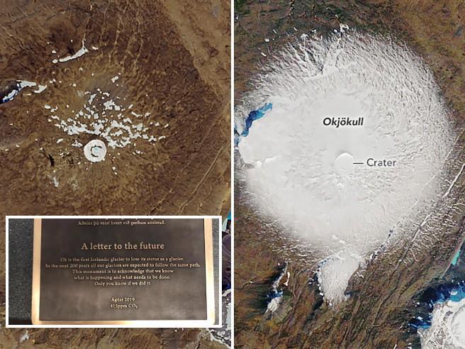 ghiacciaio, funerale, islanda, clima, ambiente, riscaldamento