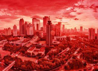 Jambi, Indonesia, inquinamento, incendi, cielo rosso, apocalisse, post-apocalittico, fantascienza, Marte, Pianeta rosso, scattering, Rayleigh, Mie, ambiente, PM10, diffusione, luce, cieli, Energy Close-up Engineering
