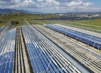 Solare, termodinamico, Energia rinnovabile, concentrazione, Italia, Anest, tecnologia, Fresnel, Parabolico, tramonto, Energy Close-up Engineering