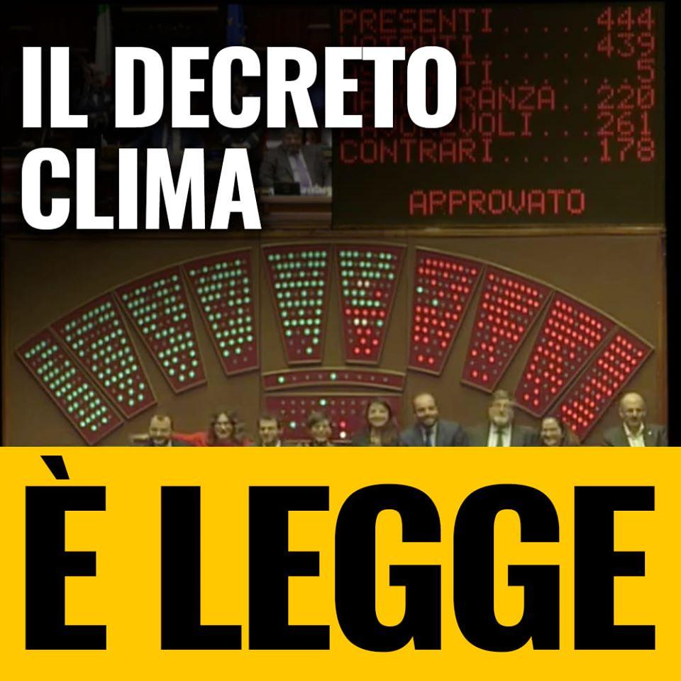Decreto, legge, clima, ambiente, Italia, ministro, ministero, mobilità, sostenibilità,, mangiaplastica, riforestazione, sicurezza, dati, elettrico, ibrido, Energy Close-up Engineering