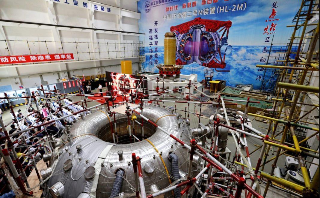 fusione nucleare, fusione, nucleare, ambiente, tokamak, Cina, sole, scatola, sun, box, HL-2M, Energy Close-up Engineering