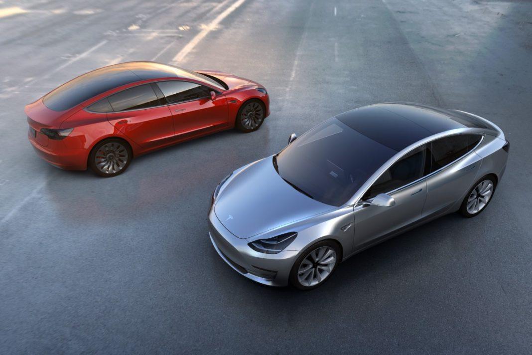 Tesla Model 3 CO2