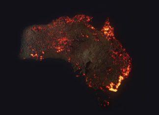 Australia Incendi Alto