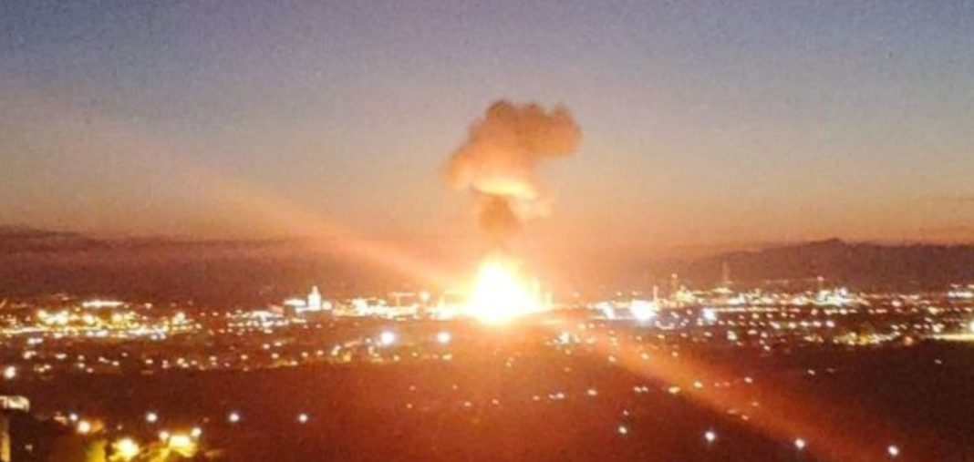 Esplosione, Spagna, Impianto, Chimica, Petrolchimica, Ossido, Ossido di Etilene, Tarragona, Energy Close-up Engineering