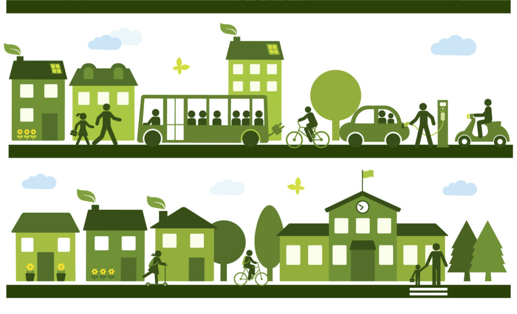 Mobilità, trasporto pubblico, mobilità attiva, pedonale, ciclabile, sostenibile, cambiamento, ambiente, micromobilità, car pooling, car sharing, piste ciclabili, auto, Energy Close-up Engineering