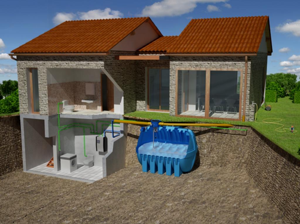 Riduzione, consumo, acqua, recupero, piogge, raccolta, serbatoio, trattamento, utilizzo, fabbisogno, igiene, usi alimentari, utenze domestiche Energy Close-up Engineering