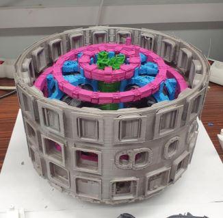 tokamak con stampa 3D