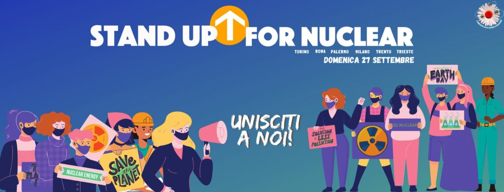 stand up for nuclear, nucleare, energia, ambiente, innovazione, atomo, energia nucleare, fissione, fusione, energy close-up engineering