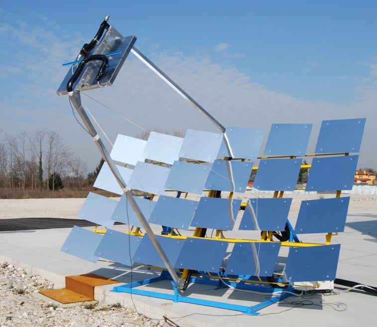 Biomasse, energia, solare, rinnovabili, Udine, università, specchio, lineare, mirror, novità, tecnologia, elettricità, costi, ricerca, rifiuti, Energy Close-up Engineering.