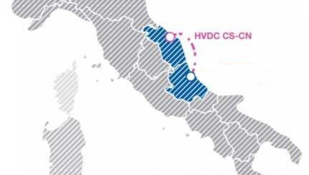 Adriatic link, terna, elettrodo, cavo, sottomarino, Abruzzo, Marche, investimento, Italia, tecnologia, sostenibilità, elettricità, sistema elettrico, rete, rinnovabili, decarbonizzazione, Energy Close up-Engineering