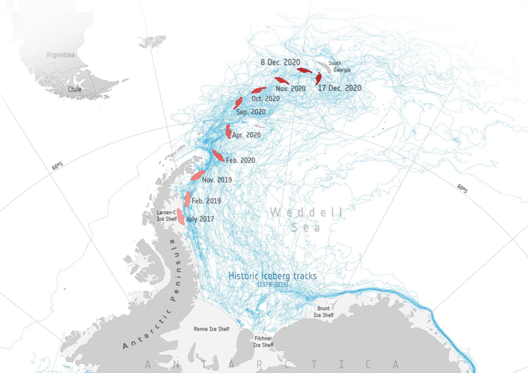 ghiacciai, A-68, parigi, iceberg, clima, riscaldamento, nasa, ecosistema, accordo, albedo, acqua, target, iea, Energy Close-up Engineering