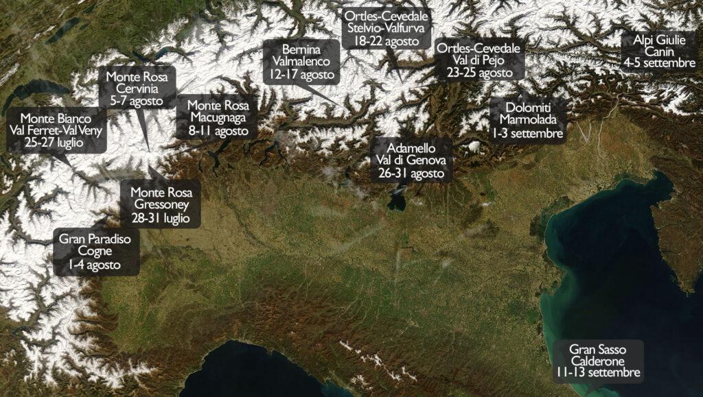 cambiamento climatico, scioglimento, variazioni, fotografia, ricerca, spedizioni, itinerario, team, progetto, alpi, montagne, temperatura, massa, tecnologia, comparazione, Energy Close-up Engineering