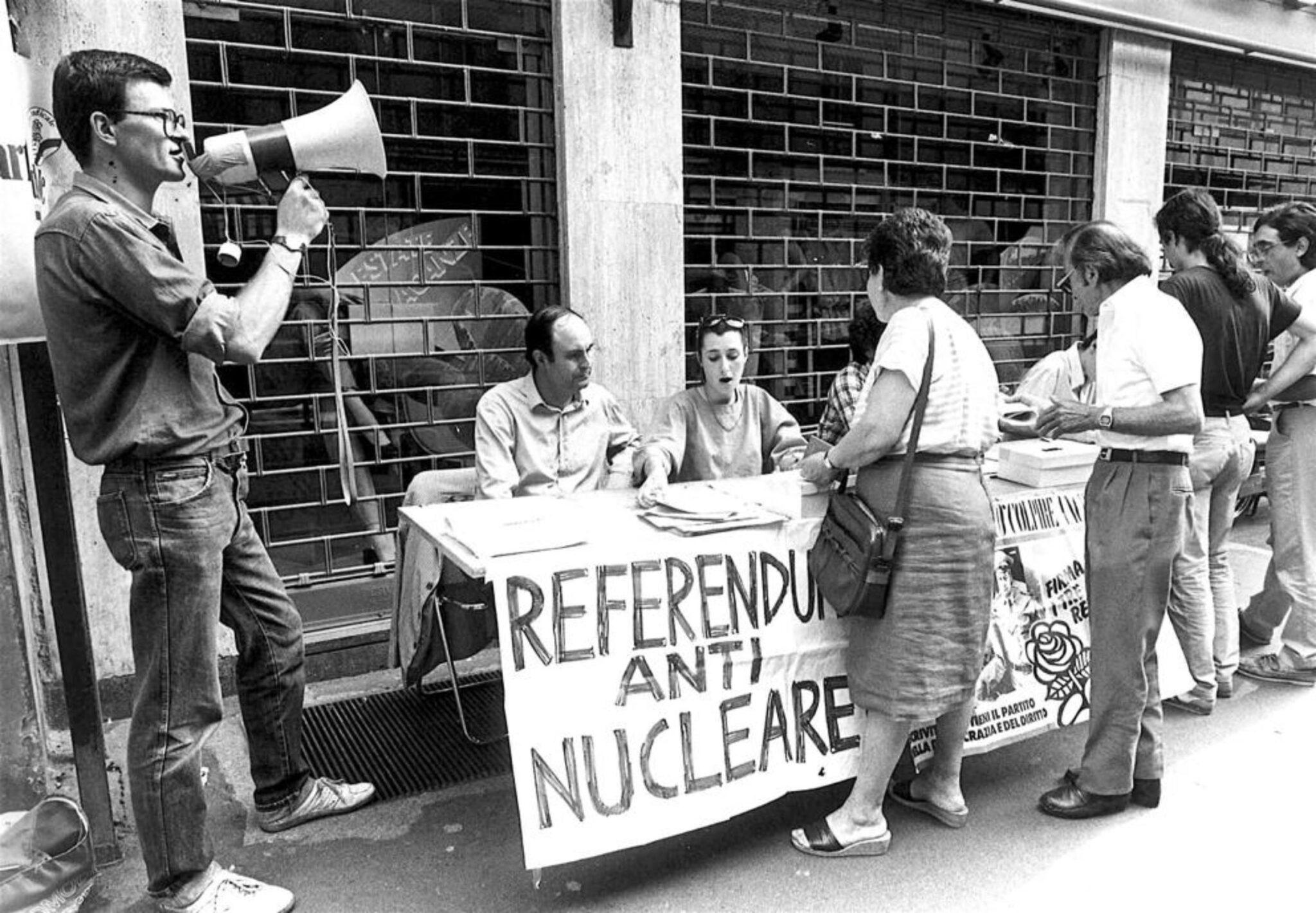 Referendum, Nucleare, Italia, Centrali, Abrogazione, Three Miles Island, Chernobyl, Proteste, Radicali, Politica, Pentapartito, Comunità scientifica, Piano Energetico Nazionale, SOGIN, Decommissioning, Energy Close-up Engineering.