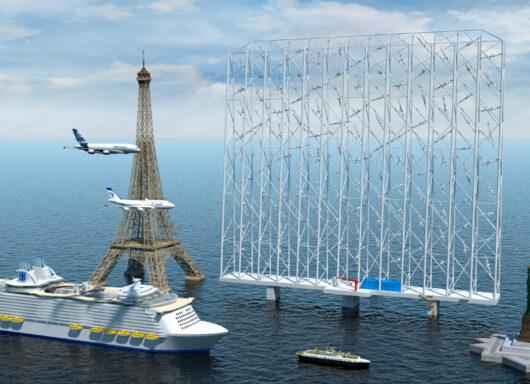 Nuovo progetto scandinavo per catturare il vento